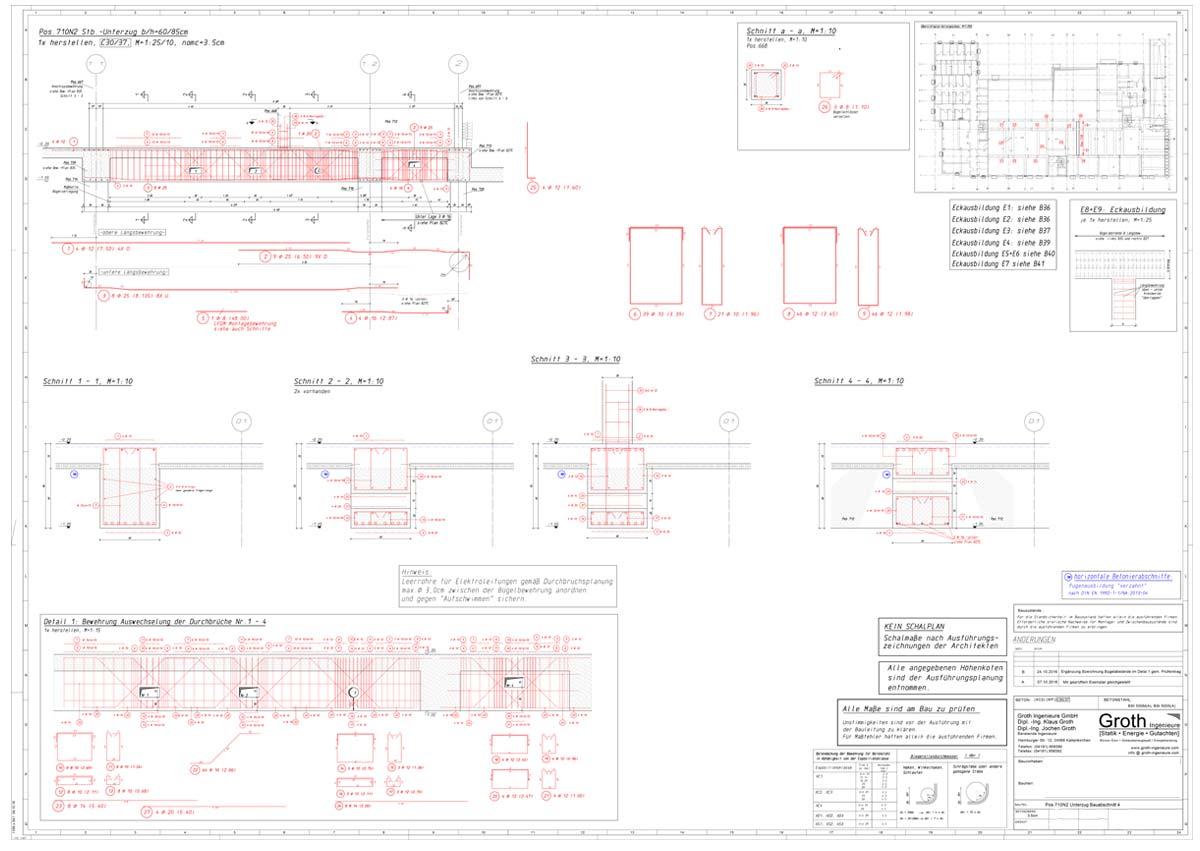 Baustatik für Tiefgarage - Ingenieure Kaltenkirchen
